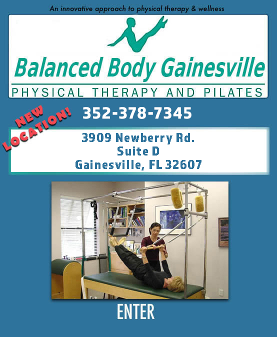 Balanced Body Physical Therapy and Pilates - Gainesville, Florida - Physical Therapy, Pilates, Gyrotonics, Therapy, Spa, Water Therapy, Rehabilitation, and Gyrokinesis.